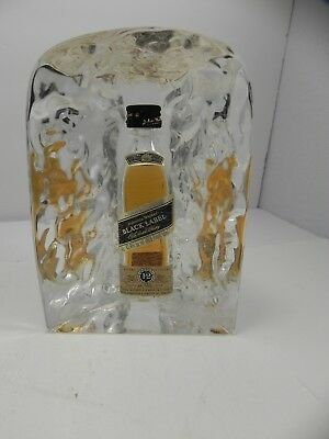 Johnnie Walker Black Label Store Display Sign Statue Bar Advertising Resin Bust