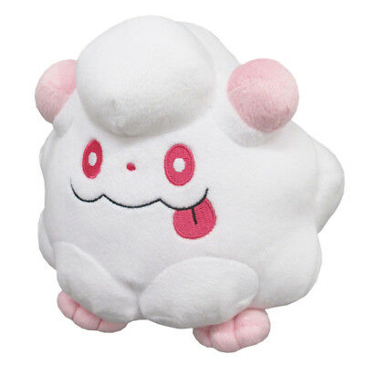 "Sanei Pokemon Sun Moon All Star Collection PP105 Swirlix 5"" Stuffed Plush Doll"