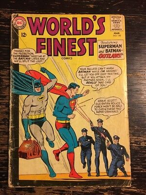 WORLD'S FINEST #148 (CLAYFACE AND LEX LUTHOR TEAM-UP) Combine Shipping Discount