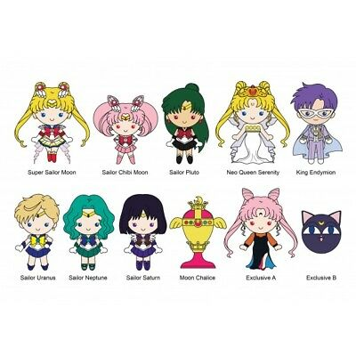Toei Sailor Moon 3D Figural Key Ring Keychain Series 2 Collectible Blind Bag-1pc