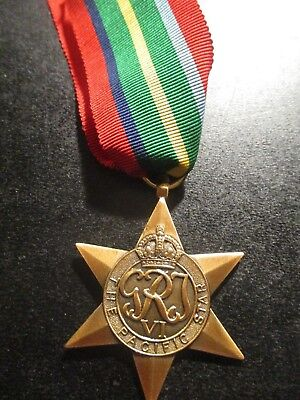 1939-45 Pacific Star - medal is Mint condition as new ref: Y39