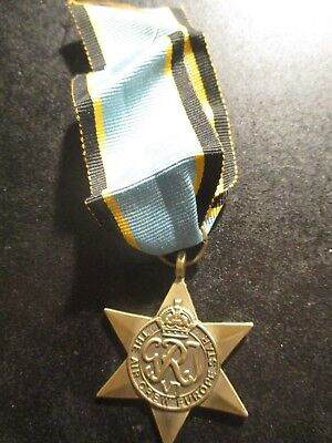 1939-45 Air Crew Europe Star - medal is Mint condition as new ref: Y40