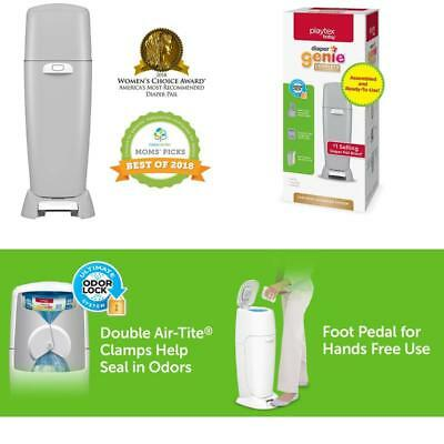 Playtex Diaper Genie Complete Assembled Diaper Pail with Odor Lock Technology /&