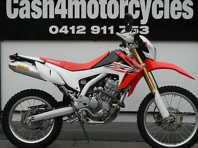 Honda Crf 250 L 2015 Model Looks And Sounds Brand New Great Value  $4990