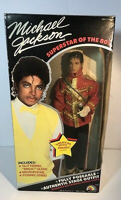 Michael Jackson Doll Superstar of the 80's American Music Awards Outfit Vintage