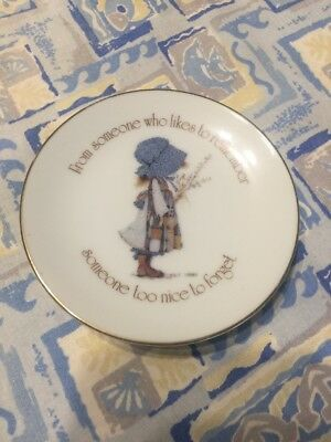 Holly Hobbie Vintage Mini Plate