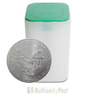 Full Tube 20 x 1oz Silver Eagles