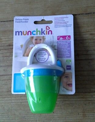 Munchkin Deluxe Fresh Food Feeder - Green BNIB