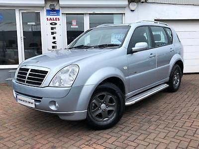 2008 08 SSANGYONG REXTON 2.7TD 165bhp 4X4 S~ULTRA LOW MILES WITH FSH~1 YEAR MOT~