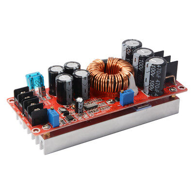 1200W 20A DC Converter Boost Step-up Power Supply Module 8-60V to 12-80V TE815