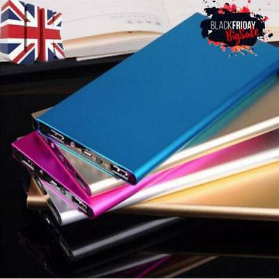 50000mAh Power Bank Portable 2 USB Battery Charger For iPhone SAMSUNG Tablet UK