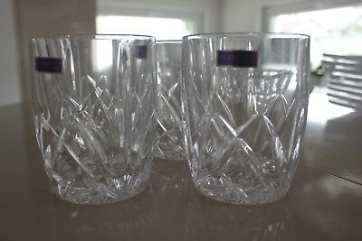 MARQUIS by WATERFORD  Double Old Fashioned Glasses, Set of 4 ovp