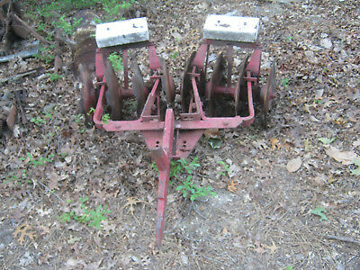 Fast Hitch Disk for Cub and other Farmall IHC International tractor models