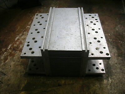 Cold-Cube custom variant heatsink drilled for 20 TO3 devices