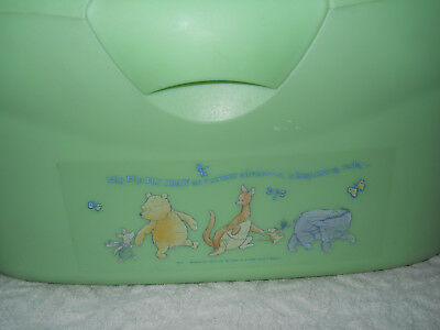 Winnie The Poo Baby Changing And Storage Box