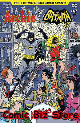 Archie Meets Batman  '66 #1 (2018) 1St Printing Allred Main Cover A Dc /archie