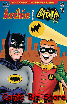 Archie Meets Batman  '66 #1 (2018) 1St Print Parent & Boone Variant Cover E Dc
