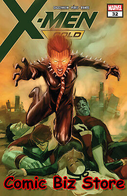 X-Men Gold #32 (2018) 1St Printing Bagged & Boarded Marvel Comics