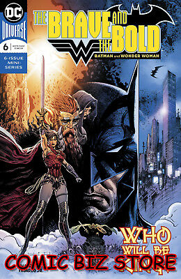 Brave & The Bold Batman & Wonder Woman #6 (2018) 1St Printing Dc Comics Universe