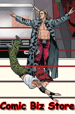 Wwe #19 (2018) Schoonover Raw Connecting Variant Cover C Bagged & Boarded Boom