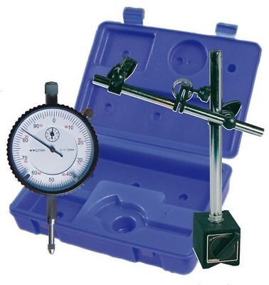 Magnetic Measuring Stand with Dial Indicator in Case NEW ORIGINAL PACKAGE