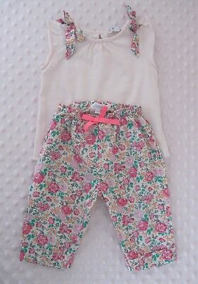 JACADI Liberty : Conjunto 6 meses / Ensemble 6 mois / Girl Set 6 Months