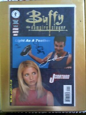 Buffy The Vampire Slayer - Jonathan #1. signed by Danny Strong