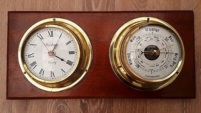Weathermaster  Barometer and Spectrum clock  combination.