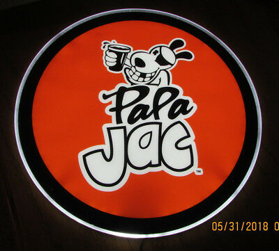 Pa Pa Jac Puerto Rican Rum LED Lighted Bar Sign NEW