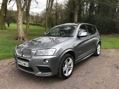 BMW X3 xDrive 35d M SPORT Auto Very Rare & Special!Great condition!