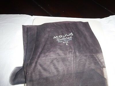 "2 MIXED PAIR VINTAGE mojud dark color textured  stockings size 9 length ""27"""