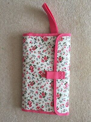 Cath Kidston Floral Changing Mat with zipped detachable case Excellent condition