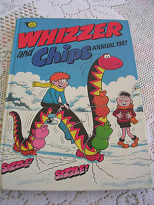 Whizzer And Chips Annual 1987