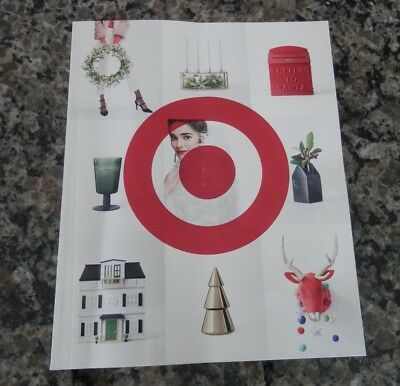 Target Bulls Eye Christmas 2017 Catalog Farm House Hearth Hand Magnolia FREE SHP