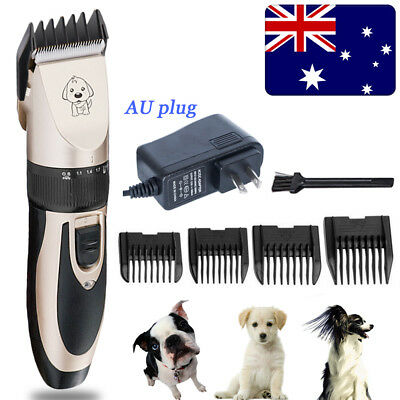Pro Dog Grooming Clippers Cordless Quiet Electric Pet Hair Clippers Trimmer Kit