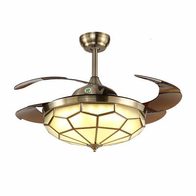 Restaurant ceiling fan European-style living room chandeliers home bedroom fan