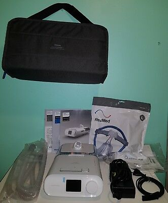 Philips Respironics Dream station CPAP apnée du sommeil  + Masque Quattro Air