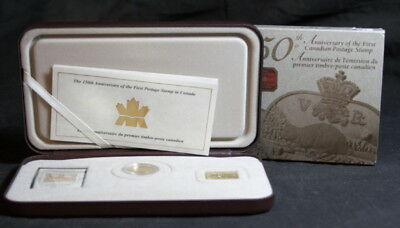2001 Canada 150th Anniversary of the 1st Postage Stamp Set by RCM