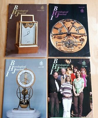 BRITISH HOROLOGICAL INSTITUTE - BHI JOURNAL MAGAZINES - 17 off