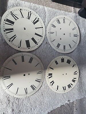 School Station Clock Faces X 4