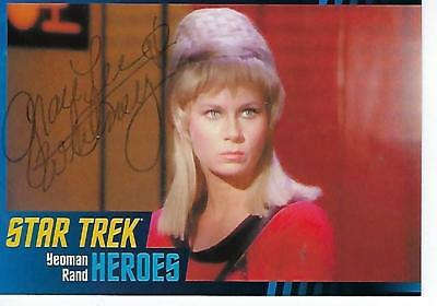 Grace Lee Whitney Signed 2013 Star Trek Tos Heroes & Villains #9 - Yeoman Rand