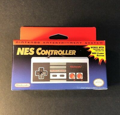 Official Nintendo Entertainment System Classic Mini NES Controller NEW