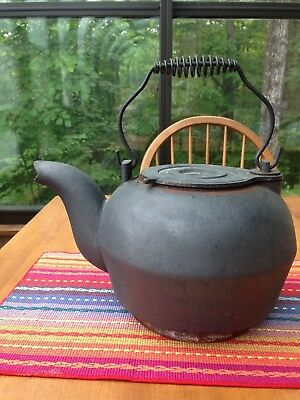 Antique Iron Tea Kettle     Local pickup only