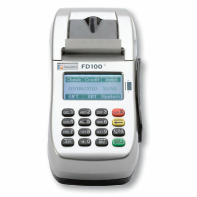 Brand New FD-100ti First Data Credit Card Terminal