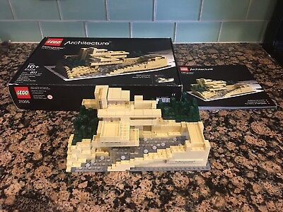 Lego Architecture 21005 Fallingwater Discontinued Series Excellent