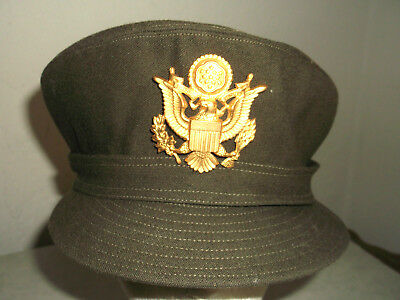 Ww2 Us Army Nurses Corps Officers Uniform Service Hat Cap