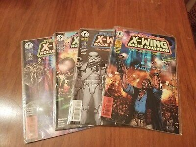 X Wing Rogue Squadron The Warrior Princess Star Wars 1996 Set of 4 Comic Books