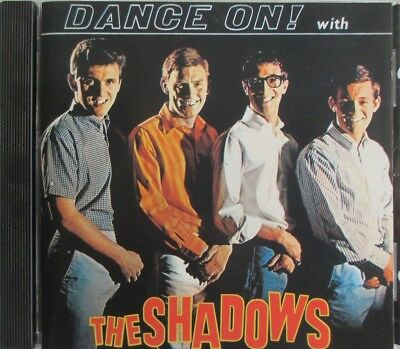"""The Shadows - France Only Cd """"Dance On"""" Club Dial"""