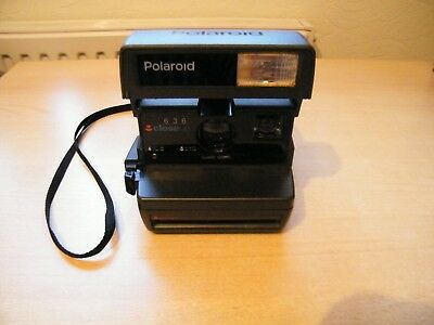Polaroid Sofortbildkamera 636 close up , funktioniert Junggesellenabschied TOP