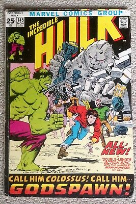 Incredible Hulk #145 (1971) Origin Of The Hulk Retold! 52 Pages! PRICED TO SELL!